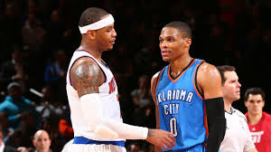 Carmelo Anthony Bench Press Russell Westbrook It U0027ll Be Easy To Play With Carmelo Anthony
