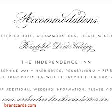 wedding reception card wording wedding invitation accommodation card wording free card design ideas