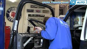 how to install replace weatherstrip u0026 window 73 87 chevy gmc