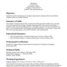 cover letter resume sample for engineers resume sample for