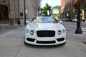bentley white 2015 bentley convertible in chicago il for sale used cars on