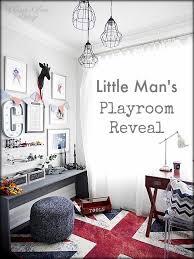 Rooms Decor Gallery Little Man U0027s Playroom Reveal U2014 Classy Glam Living