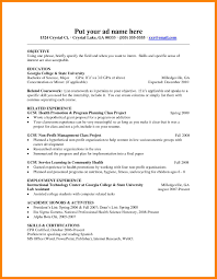 Education Resume Template Free Sample Resume Format For Teaching Profession Resume For Your Job