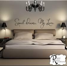 Vinyl Wall Decals For Bedroom Sweet Dreams My Love 3 Vinyl Bedroom Wall Decal