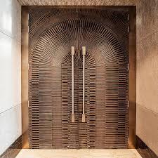 Arabic Door Design Google Search Doors Pinterest by Doors In Bonded Bronze With Dark Patina And Eclipse Pattern At Jw