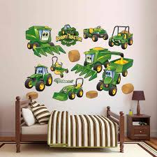 deere johnny tractor farming collection fathead peel u0026 stick wall