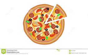 animation cuisine pizza on white background 3 shoots animation 4k stock