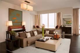 Decorating Ideas Living Room Brown Sofa Captivating Decorating Living Room With Sectional Sofa With Ideas