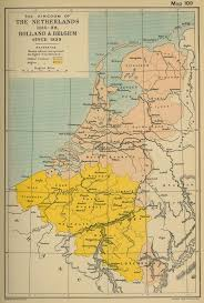 netherlands map map of the netherlands 1815 1839 and belgium since 1839