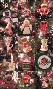 decorating my family tree with ornaments made by