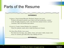 Dog Walking Resume 3 Getting The Job 3 1 Getting An Interview Ppt Video Online Download