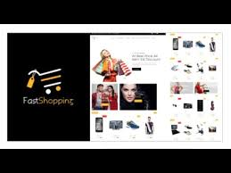 fast shopping multipurpose bootstrap html 5 ecommerce template
