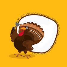 turkey bird for happy thanksgiving day celebration royalty