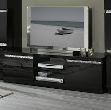 cuisine noir laqué pas cher armoire noir laqué pas cher collection avec meuble tv design laqua
