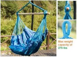 outdoor hammock hanging chair portable hiking camping swing