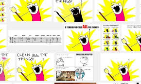 Clean All The Things Meme - meme origins all the things tic spawned by artist allie brosh
