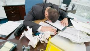 Sleeping At Your Desk Going Out To Your Car And Taking A Nap During Lunch Hour Tacky