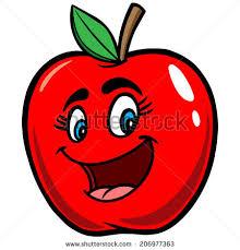 apple cartoon apple cartoon stock vector 2018 206977363 shutterstock