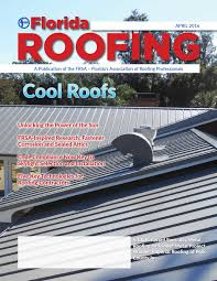 Southern Roofing Tampa by Florida Roofing Magazine April 2016 By Florida Roofing Magazine