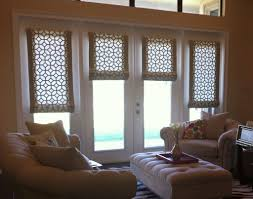 Photos Of Roman Shades - roman shades for french doors remodelling decorating roman