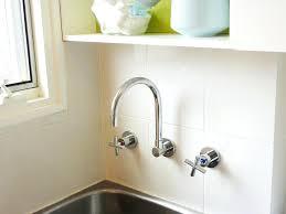 Apron   Ambrosio Porcelain Wall Mount Sink Bathroom Wall Mount - Wall mount kitchen sink faucet