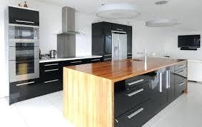 cuisine moderne bois massif ilot bois cuisine ilot de cuisine moderne ilot central bois massif