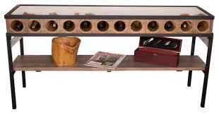 console table with wine storage sofa table with wine storage sitez co