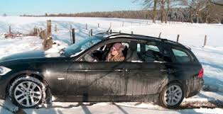expensive cars for girls girls stuck in snowy roads amazing world