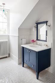Bathroom Sloped Ceiling Design Ideas - Floor to ceiling bathroom vanity