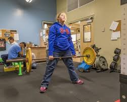 young weightlifters from vancouver based for the blind