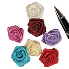 satin roses tiny satin roses