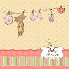 Babyshower Invitation Cards Baby Shower Invitation Card Royalty Free Cliparts Vectors And