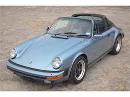 1986 porsche targa for sale 1986 porsche 911 for sale classiccars com cc 1035329