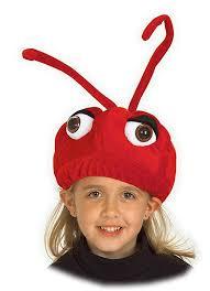 halloween costume accessories amazon com kid u0027s ant hat clothing