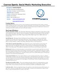 sports marketing cover letter gallery cover letter sample