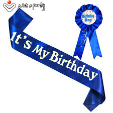 happy birthday sash online shop happy birthday gift birthday girl boy brooch sash