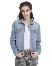 Light Denim Jacket Buy Only Floral Embroidered Light Blue Denim Jacket Online Only