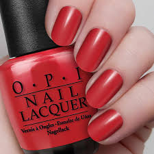 red rio nail lacquer opi