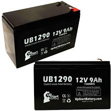 2 pack apc smart ups 750 battery ub1290 12v 9ah sealed lead acid