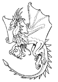 coloriage dragon volant sur hugolescargot com