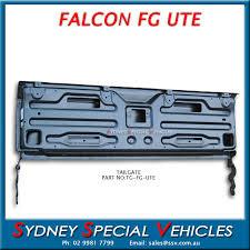 tailgate for fg u0026 fgx falcon utes