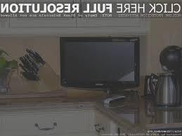 kitchen simple under cabinet tv for kitchen design decor best