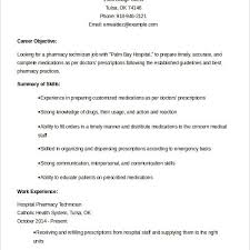 Examples Of Pharmacy Technician Resumes by Plush Design Ideas Pharmacy Technician Resume Sample 7 Example