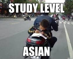 Asian Girlfriend Meme - study level asian weknowmemes