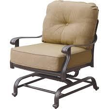 Patio Spring Chair by Darlee Elisabeth 5 Piece Cast Aluminum Patio Fire Pit Conversation