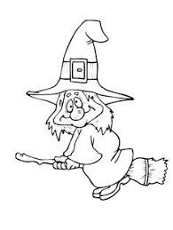 free printable halloween witch coloring page for kids halloween