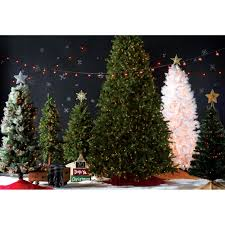 slim artificial pre lit christmas trees christmas lights decoration