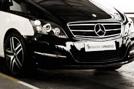 diamond benz mercedes benz makes a luxury limo out of the viano with vision