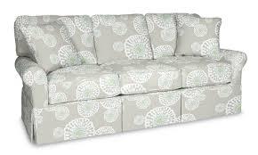 Queen Sleeper Sofa by Wilton Skirted Queen Sleeper Sofa Maine Cottage