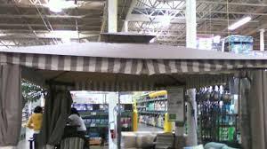 Replacement Canopy For 10x12 Gazebo by Lcm890 Bjs 2010 Living Home 10x12 Gazebo Youtube